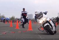 警視庁、第 39 回 白バイ安全運転競技大会の映像を公開
