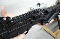 A&Kガスブローバック式エアソフト『M249』のテスト稼働映像