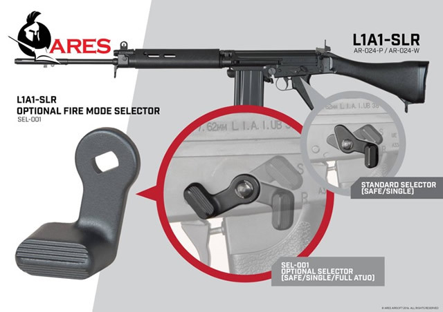 Image result for ares L1a1 slr selector