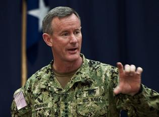 NEWS米大学総裁選に特殊作戦軍 (SOCOM) 司令官・ウィリアム・マクレイヴン海軍大将の名前が有力候補に