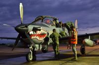 アフガニスタン空軍、米空軍からデリバリーされた軽航空支援機「A-29 スーパーツカノ」第一陣×4 機を受領