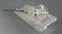 ソ連・ロシア戦車研究家、「クロムウェルモデルズ」が製作中のアルマータ T-14/15 初のガレージキット化を公開