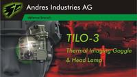Andres Industries製の超小型サーマルイメージャー+ヘッドランプ「TILO-3」