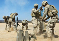 米陸軍が迫撃砲弾を使って前線兵士に物資補給をおこなう搬送システムを計画