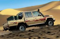 イラク向け対外有償軍事援助でトヨタ・ランドクルーザー 4 ドア ピックアップトラック× 600 輌の修正契約