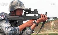 ピカティニーレールでモダナイズされた中国人民解放軍制式小銃「QBZ-95-1」が目撃される