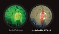 ナイトビジョンの単色画像がカラーに?「ColorTAC CVA-14」が間もなくデビュー