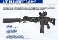 コルト社がオーストラリア軍特殊部隊の要望で開発した次世代型5.56mmカービン「M5 Enhanced Carbine」