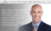 米ケーブルテレビ運営最大手のコムキャスト社が、元ST6所属経験を持つトップの交代人事を発表