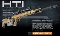 チェコ国防省が国際派兵する特殊部隊に向けて米デザートテック社のHTIスナイパーライフルを購入