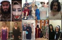 イラク・モースル奪還作戦の裏側で「女装」して逃げ惑うダーイシュ(IS)戦闘員