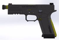 EMG ArmsよりSalient Armsのカスタムグロック「SAI BLU」のエアソフトガンが登場