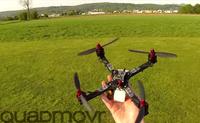 世界最速のクアッドコプターと思われる動画が YouTube に出現