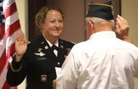 米陸軍特殊部隊グループ大隊に史上初めて女性指揮官が就任