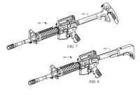 AR-15 のストックに各種エントリーツール (halligan tool) を装備する特許アイテム