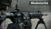 フランス陸軍がFAMASに替わって制式採用されるHK416Fの動画を公開