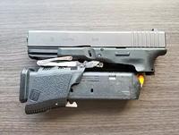 グリップの根元から折り畳め、携帯電話サイズへコンパクト化。「Full Conceal M3 - Glock 19」