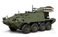 対ドローンの防空能力を向上させるヘルファイアを搭載した初のストライカー装甲車輌が登場