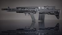 『M14 EBR』エアソフトの「ブルパップ」化カスタム