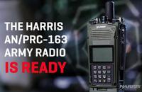 HARRISの新型ハンディ無線機「AN/PRC-163」の米軍向けバージョンが公開