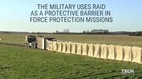 コンテナから瞬間設置!  秒速展開のヘスコ防壁「RAID システム」がスゴそう