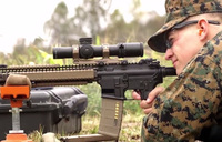 銃身の長さで命中精度はどのように変化するのかを教えてくれるアメリカ海兵隊の公式動画