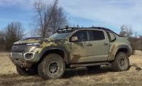 新型水素燃料電池を搭載した「Chevy Colorado ZH2」を米軍がテストを開始