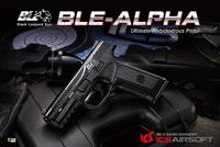 台湾 ICS 社初のガスブローバックハンドガン「BLE-ALPHA」の動画