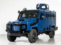 トヨタ製ランドクルーザー 79 をベースとしたカナダ・インカス製の SWAT 用装甲兵員輸送車「ハドソン」