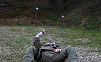 Instructor Zero、スパイン状態での高度な逆さま射撃ドリル映像