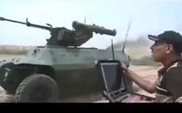 イラク治安部隊がダーイッシュ (IS) から要衝奪還の為、小型車サイズの無人攻撃ロボットを準備