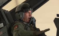 イラク国防大臣、ダーイッシュ (IS) 空爆のため F-16 戦闘機の後部シートに搭乗