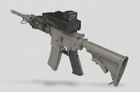 イスラエルのSmart Shooter社が開発した電子補正式の光学照準器「SMASH」で命中率が飛躍的に向上