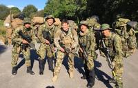 陸自 富士学校普通科部レンジャー班が渡英。英・米 と共に三ヶ国で初の合同訓練