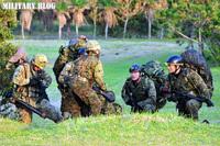 陸上自衛隊・西部方面隊が種子島で着上陸訓練を実施。小型偵察ボートを使った夜間訓練の公開は国内初