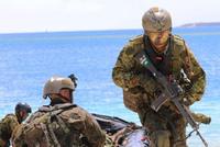 米英仏と共にグアムの多国籍水陸両用演習でWAiR隊員がBUSCH製Bumpヘルメット「AMH-2」を着用して訓練に参加