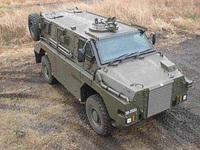 陸上自衛隊、「輸送防護車 MRAP (エムラップ) 」を初公開
