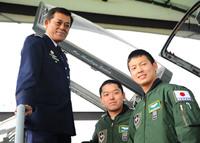 航空自衛隊パイロット、F16訓練課程を修了