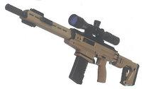 カラシニコフ社の新型中距離狙撃ライフル「SK-16」が雑誌で公開