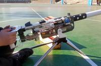 Nerf仕様となったファンメイドのM2重機関銃