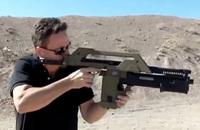 映画「エイリアン 2」の「M41A パルスライフル」をモデルにした実銃『MAX 41A』射撃映像