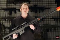 劇的に軽量化されたランサータクティカル製コッキング式エアソフト「Barrett M82」