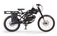 特殊部隊向けに開発されたモトペド社の原動機付マウンテンバイク