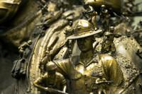 米国立海兵隊博物館に彫刻家クリス・カックシー氏作のバロック調作品が公開
