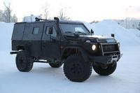 メルセデス・ベンツが軽装甲パトロール車両「LAPV 6.1」の寒冷地試験を実施。ドイツ陸軍特殊部隊へデリバリー予定