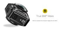 NIKON、360°全方位撮影可能な 4K 対応の新アクションカム「KeyMission 360」を今春発売