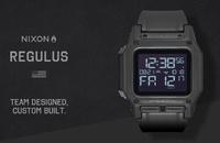 元米海軍特殊部隊SEAL隊員の声を反映したNIXONミリタリーデジタルウォッチ『レグルス(REGULUS)』が新発売