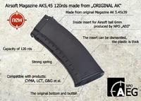 ロシア「NPO AEG」がオリジナル「AK74」用弾倉を使ったエアソフト版をリリース