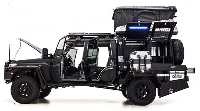 オーストラリアでモンスターカスタムされたトヨタ製「ランドクルーザー」が中東マーケットにデビュー ミリブロnews