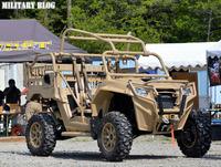 米軍特殊部隊 御用達、国内唯一の Polaris MRZR-2 がガンショップ FIRST に納車